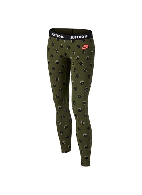 Nike Tayt Yeşil